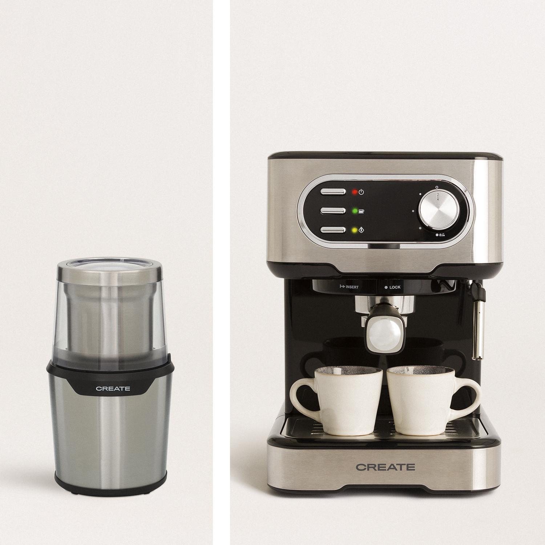PACK - THERA EASY LATTE Semi-automatic espresso machine + MILL PRO Dual electric grinder, imagen de galería 996122