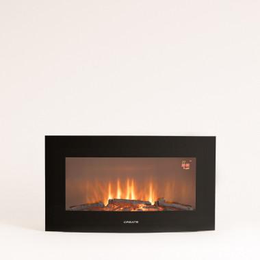 Comprar ELECTRIC FIRE M - Chimenea Eléctrica de pantalla curva de 28''