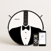 PACK - NETBOT S18 Robot Aspirador + Vinilo DESIGN