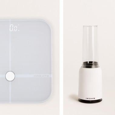 Comprar Pack - Báscula BALANCE BODY SMART + Batidora con Vaso Portátil MOI SLIM