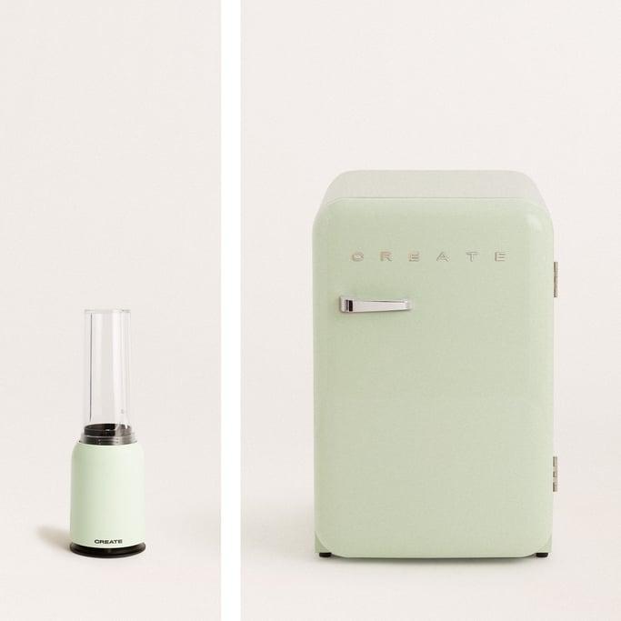 Pack - MOI SLIM batidora con vaso + RETRO FRIDGE 83.5 frigorífico, imagen de galería 1040740