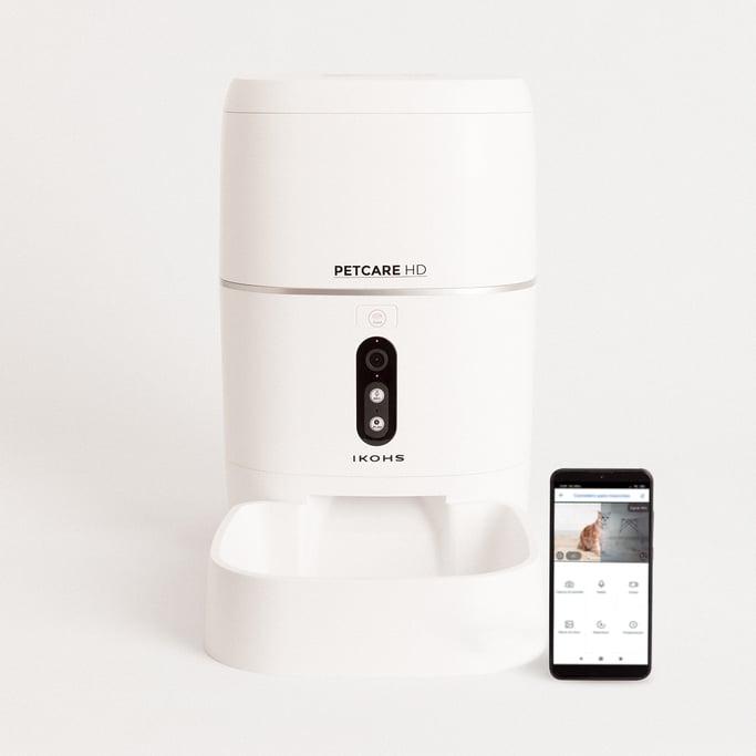 PETCARE HD - Comedero Dispensador Inteligente Automático para mascotas, imagen de galería 1
