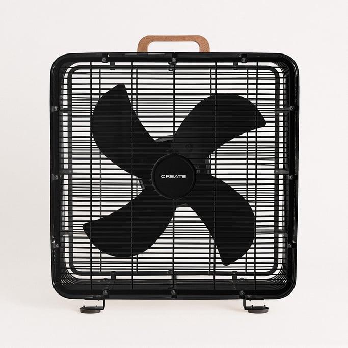 AIR FLOOR BOX - Ventilador Industrial de suelo 90W, imagen de galería 1
