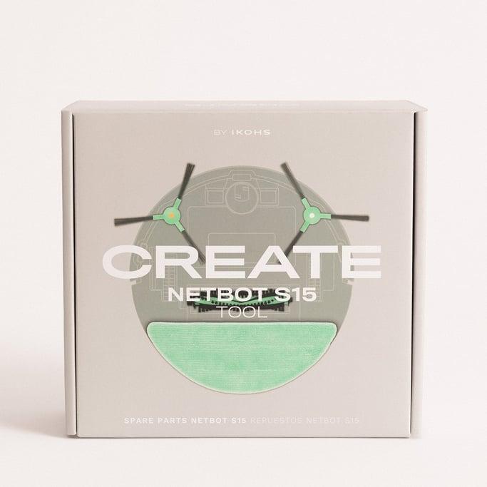 SET de Repuestos para NETBOT S15 2.0 - Robot aspirador inteligente, imagen de galería 1