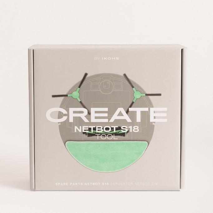 SET de Repuestos para NETBOT S18 - Robot aspirador inteligente, imagen de galería 1