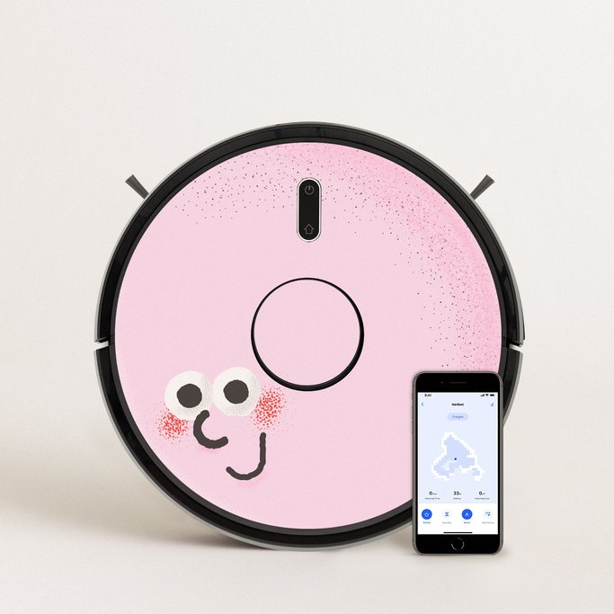 PACK Netbot LS23 +  Vinilo Creature & Stickers  , imagen de galería 1