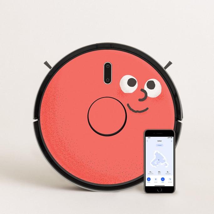 PACK Netbot LS23 Endurance + Vinilo Creature & Stickers , imagen de galería 1