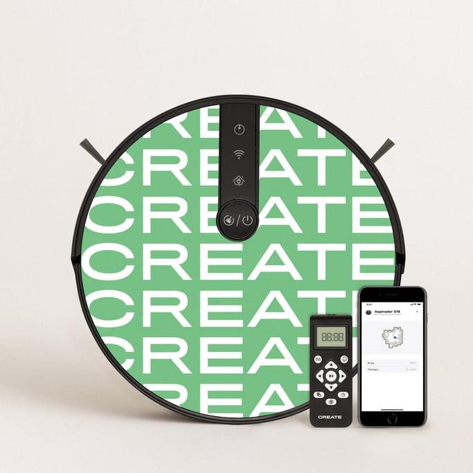 PACK Netbot S18 + Vinilo CREATE, imagen de galería 1
