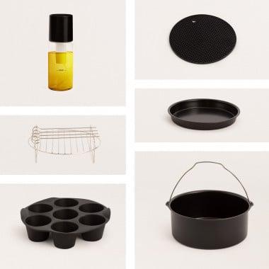 Acquista Pack di accessori da cucina per friggitrice ad aria FRYER AIR SMART 5.5L