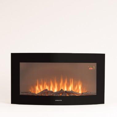 Acquista ELECTRIC FIRE L - Caminetto elettrico con schermo curvo di 35''