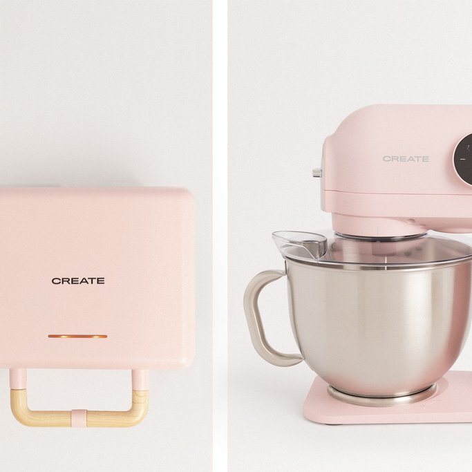 PACK - STONE 3 IN 1 Waffle Maker, Sandwich Maker and Grill + DOWNMIX RETRO Planetary Rotation Mixer, imagen de galería 1