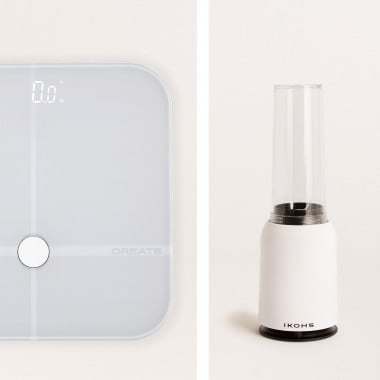 Buy Pack - Báscula BALANCE BODY SMART + Batidora con Vaso Portátil MOI SLIM