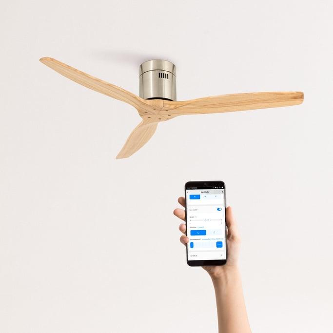 AIRCALM DC - Ultrasilent Ceiling Fan with Winter - Summer Function, imagen de galería 1