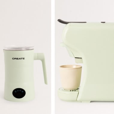 Buy PACK - POTTS STYLANCE Multi-capsule espresso machine + MILKFROTHER PRO Milk and chocolate warmer frother