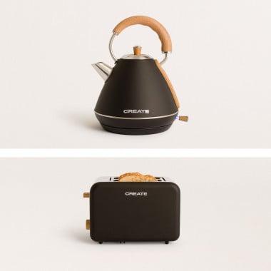 Buy PACK - TOAST RETRO Bread toaster + KETTLE RETRO Kettle