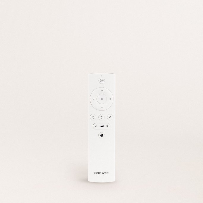 Remote control for NETBOT LS27 - Intelligent Vacuum Cleaner Robot, imagen de galería 893901