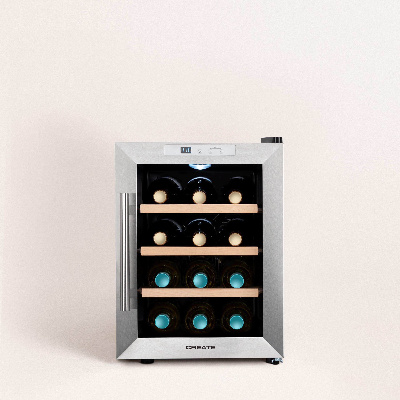 WINECOOLER WOOD M - Wine cooler for 12 bottles, imagen de galería 1