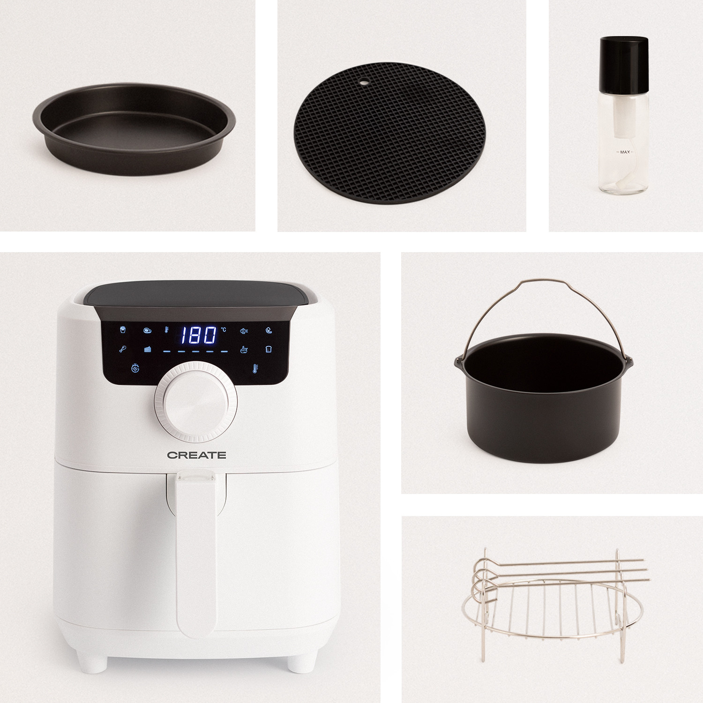 PACK - FRYER AIR PRO 3.5L Oil Free Air Fryer + Accessories, imagen de galería 1