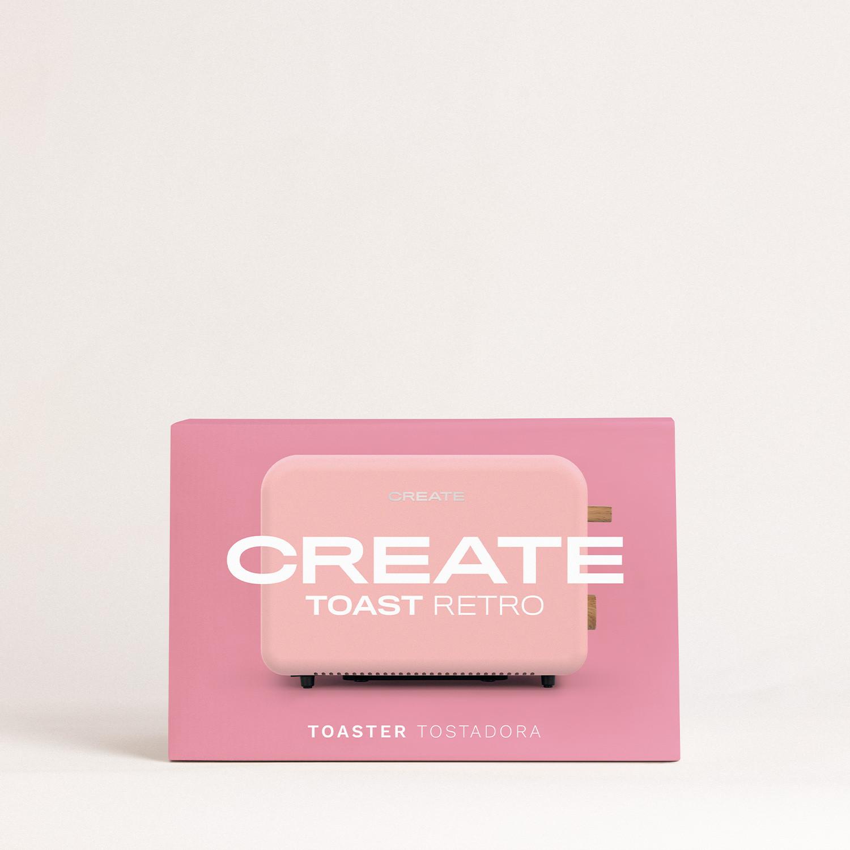 TOAST RETRO - Toaster for wide slices, imagen de galería 1