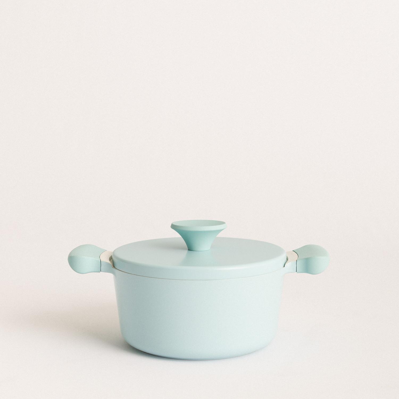 UMA - Ø20 cm cast aluminium pot with bakelite handle, imagen de galería 1