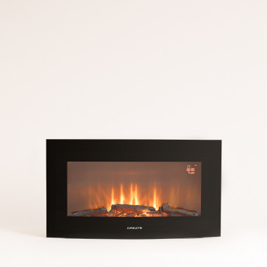 Buy ELECTRIC FIRE M - 28 '' Curved Screen Electric Fireplace