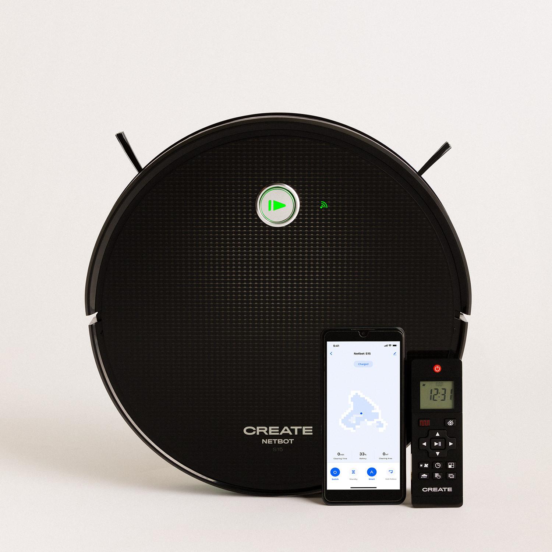 NETBOT S15 2.0 - Smart Vacuum Cleaning Robot NEW APP - 1500 Pa, imagen de galería 1
