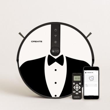 Buy PACK - NETBOT S18 Robot Vacuum Cleaner + Vinyl DESIGN